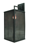 Texas Lightsmith CCWS-5; painted steel and fine mesh screen diffuser.