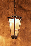 Custom copper pendant or hanging lantern lighting fixture JWHL