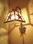 Custom Made Lighting Wall Fixtures And Sconces In Copper