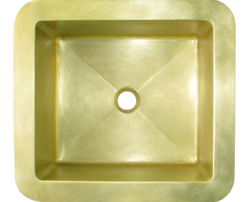 Custom Brass Bar Sink