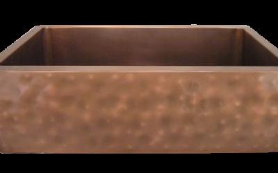 Soft Distressed Apron Front Single Basin Farmhouse Sink