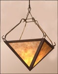Copper pendant lighting fixture PPPF