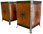 Custom Copper Planters for James Avery