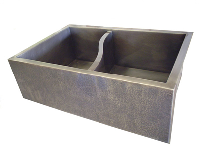 S Sink Custom Kitchen Sink With S Shaped Divider