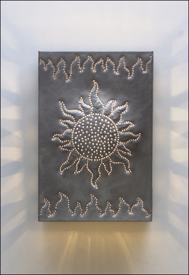 JHWS-2 wall fixture in burnished pewter