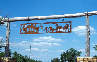 BWB Ranch Sign