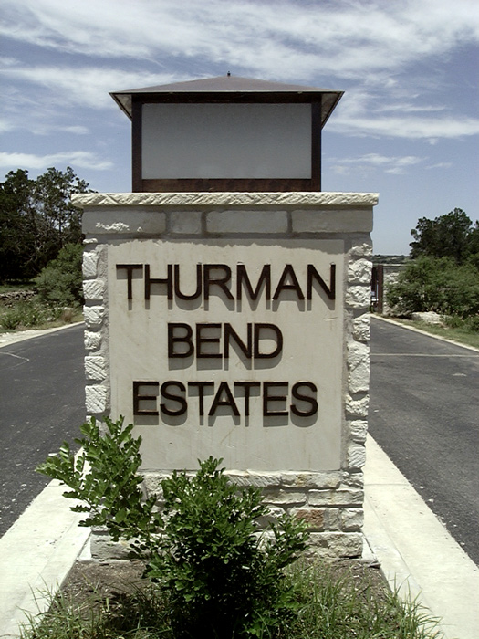 Thurman Bend Sign
