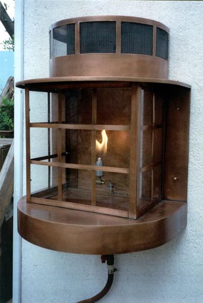 Custom Gas Lantern