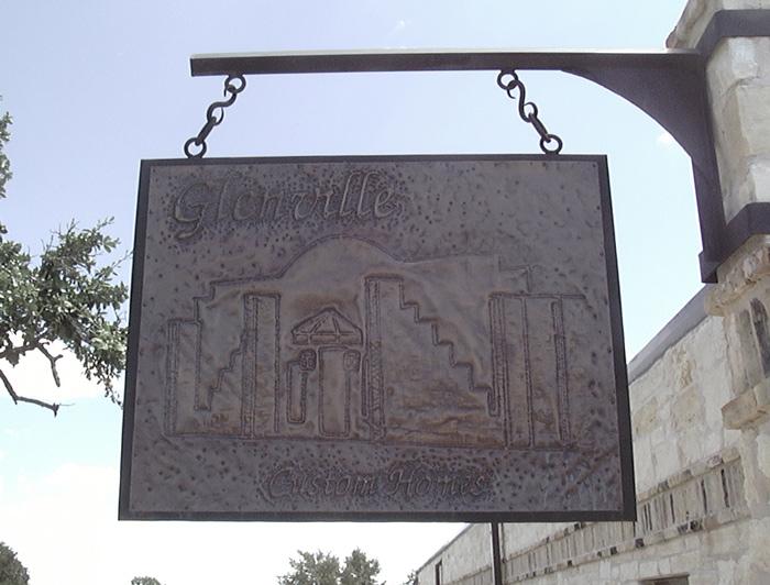 Glenville sign