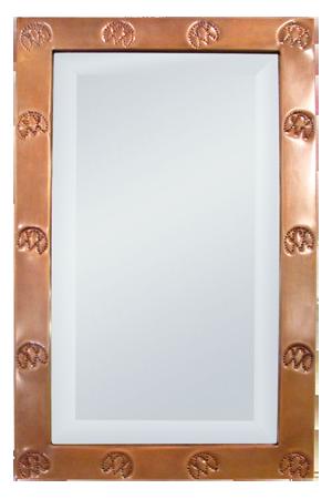 Custom Branded Copper-frame Mirror