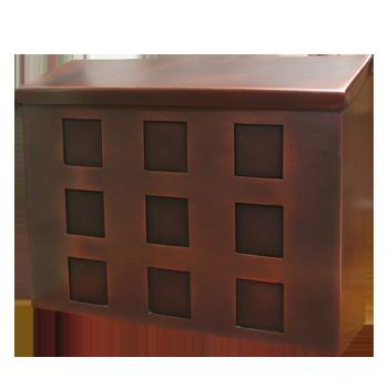 Custom Copper Mailbox