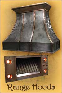Texas Lightsmith Custom Range Hoods Sinks Lighting