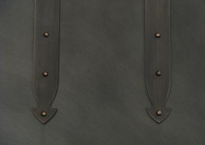 Range Hood 4M, strapping detail