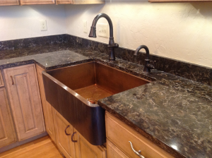 installed sink photo 011513AD