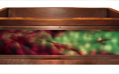 Chocolate Mint Luminescent Apron Sink