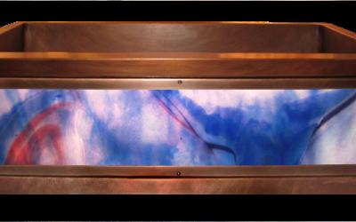 Falco Luminescent Apron Fan Sink