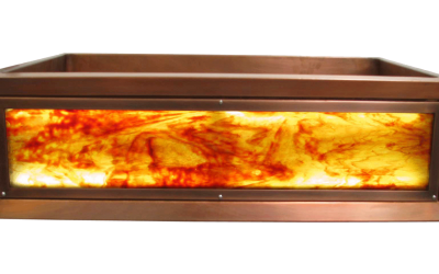 Firepool Luminescent Apron Sink