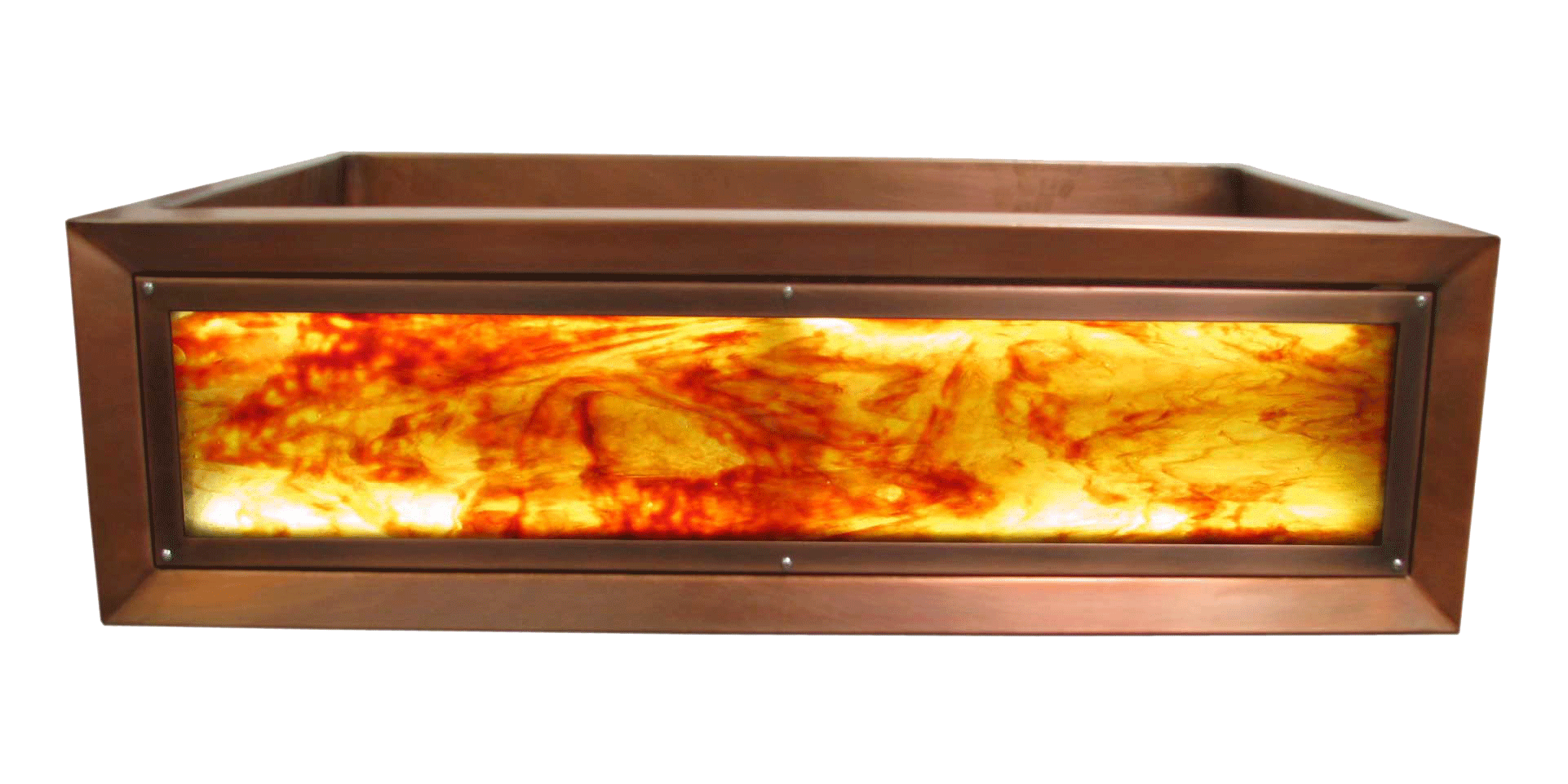 Firepool Luminescent Apron Sink
