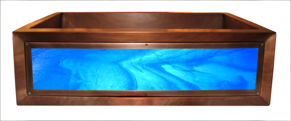 Sogni Azzurri Luminescent Apron Sink