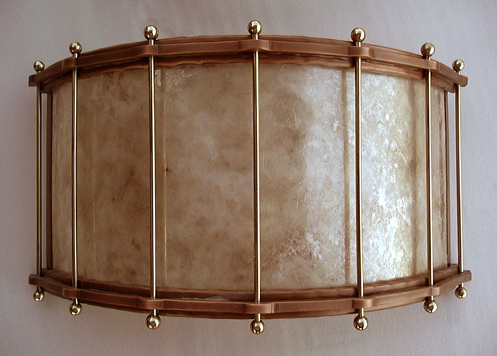 Drum Wall Sconce