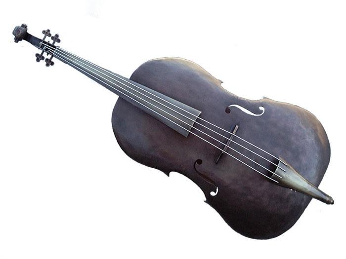 Cello Wall Sconce in Dark Copper