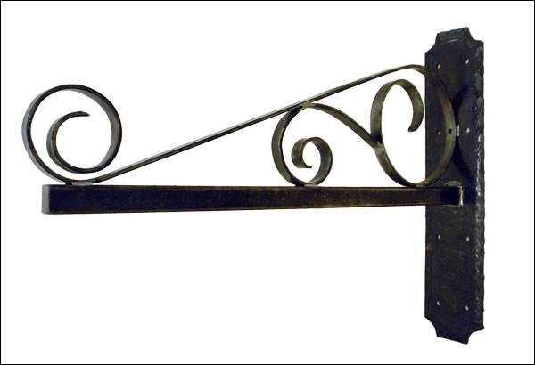 Custom Wrought Iron Bracket
