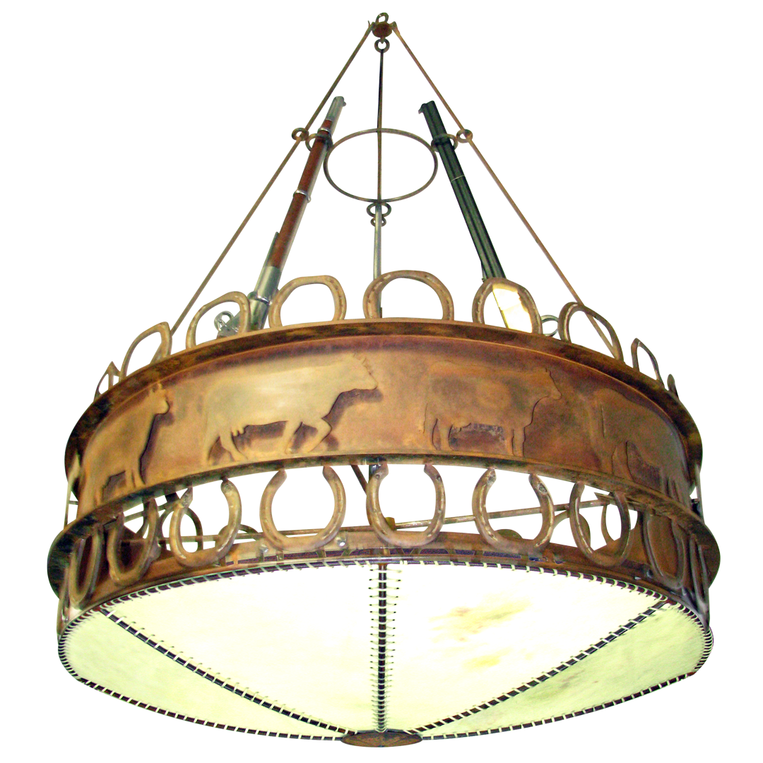 Custom Rustic Chandelier #27