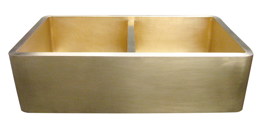 Double Basin Smooth Apron Sinks