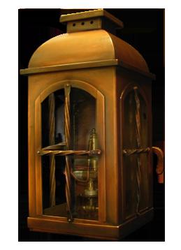 ABGL-2 post lantern