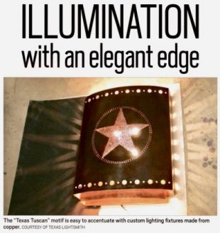 Illumination with an elegant edge