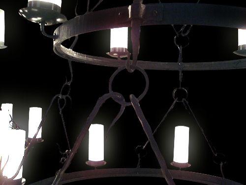 Chandelier 7C detail