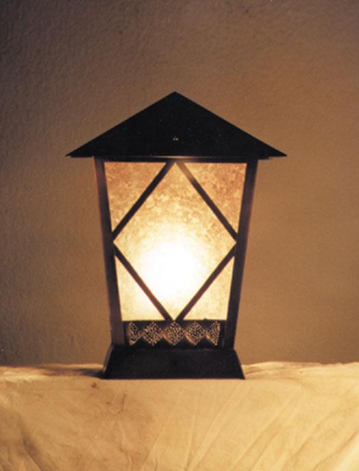 BPL post lantern