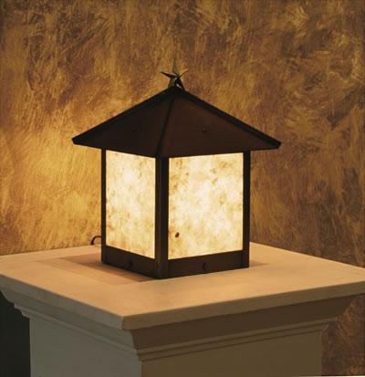 TSPL post lantern