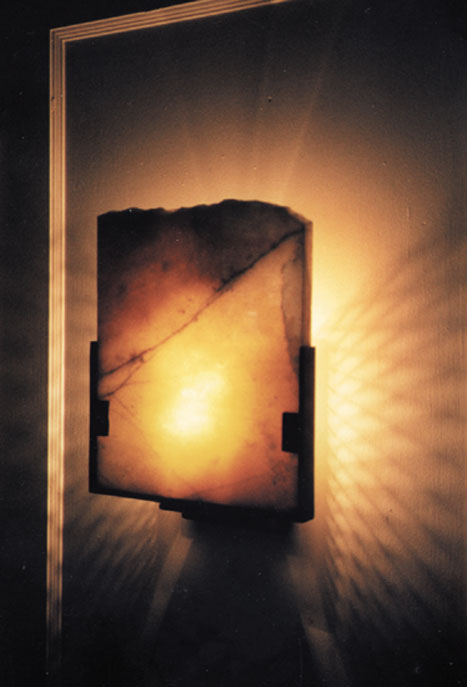 AWS wall sconce