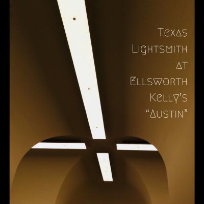 "Texas Lightsmith Lights Ellsworth Kelly's ""Austin"""