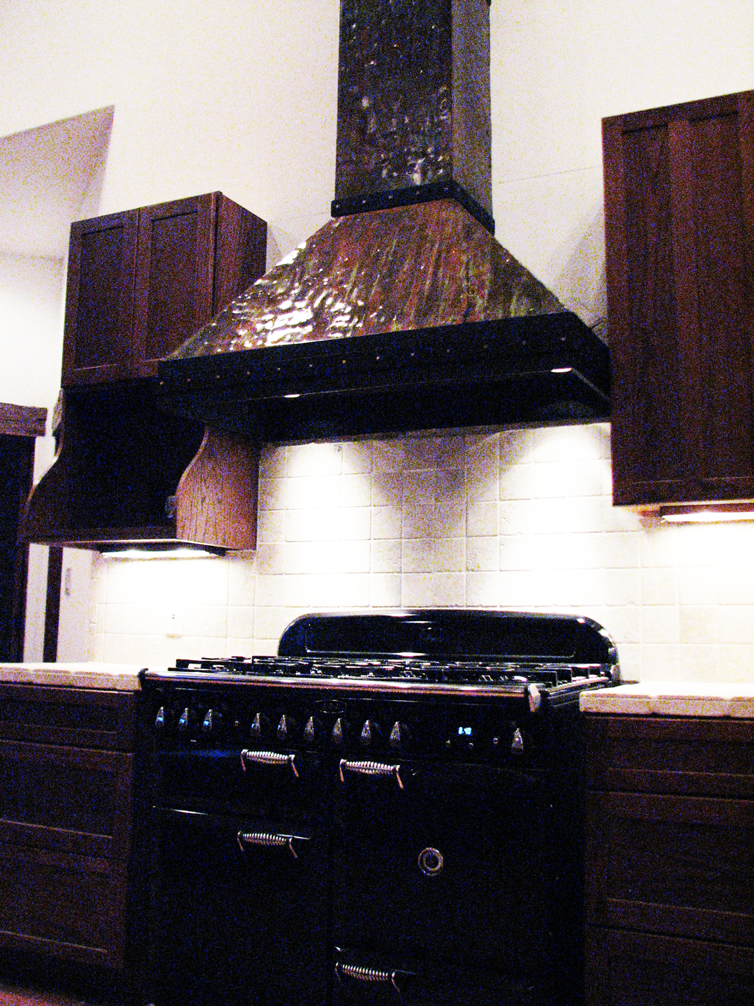 Private Residence – Pitched Ceiling Range Hood 7