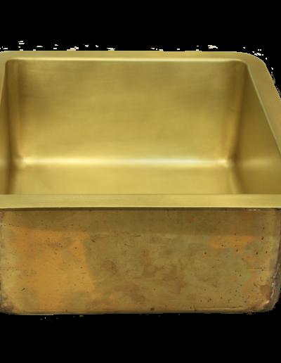 T15 Burnished Brass Sink
