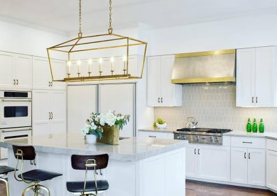 Texas Lightsmith & Bradshaw Designs Collaboration Item: nickel Silver and Brass Range Hood