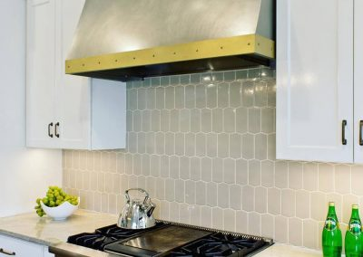 Texas Lightsmith & Bradshaw Design Collaboration Item: Nickel Silver and Brass Range Hood