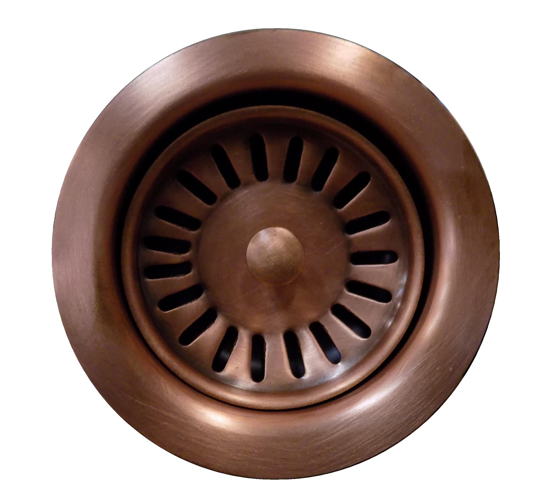 strainer basket fitting, medium copper