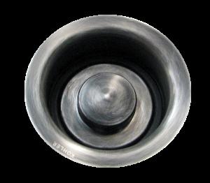 disposal fitting and matching plug, Medium Nickel Silver