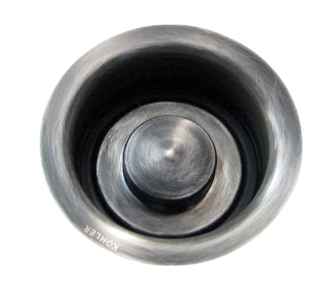disposal fitting and matching plug, Medium Nickel Silver