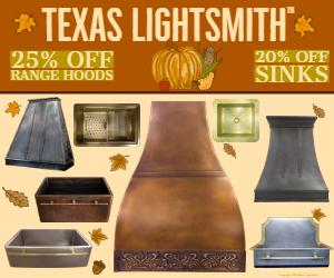 Summer Sale! 25% Off Hoods & 20% Off Sinks