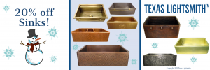 20% off All Sinks