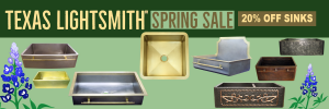 Spring Sale 20% off All Sinks