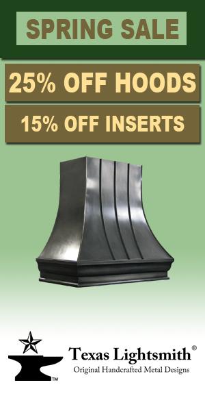 Spring Sale - 25% Off Range Hoods