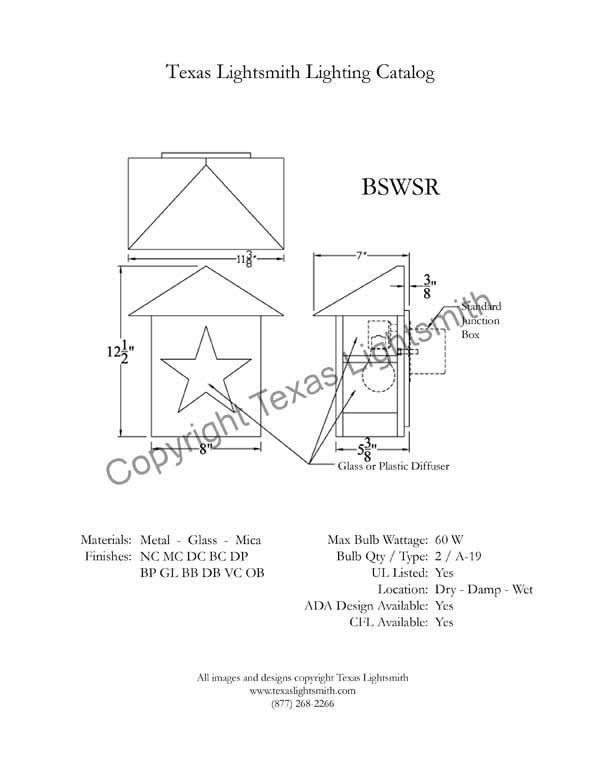 BSWSR Spec Drawing