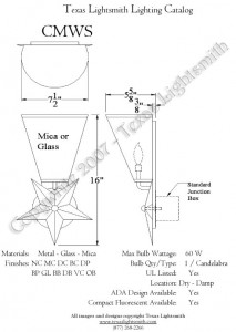 CMWS Spec Drawing