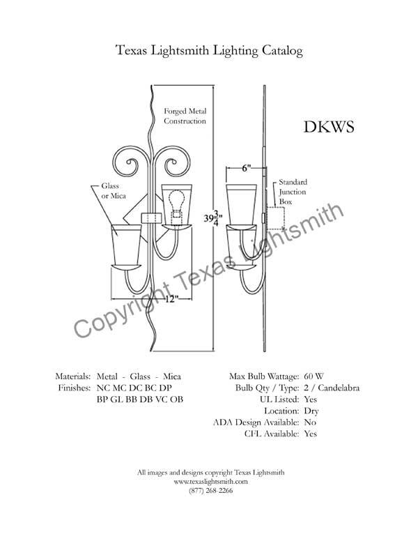 DKWS Spec Drawing