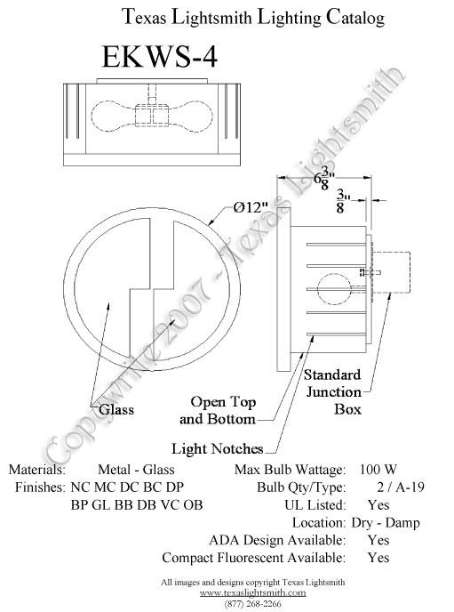 EKWS-4 Spec Drawing